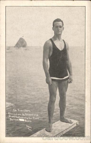 Photo of Ed Harrison, Champion of Champions Swimming