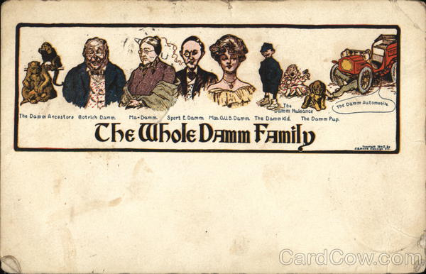 A Picture of the Damm Family The Whole Family