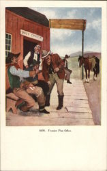 Frontier Post Office Postcard
