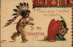 To My Valentine - Two Indian Children