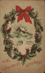 Picture of a Christmas Wreath