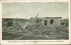Photo of Home Destroyed By Tornado