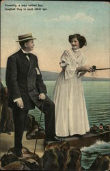 A Man and Woman on a Dock