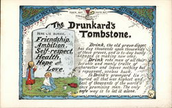 """The Drunkard's Tombstone"""