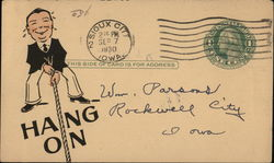 Correspondence Card from J. R. Morganson of Milcor