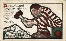Chain Gang Postcard