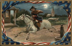 Paul Revere's Ride, April 18, 1775