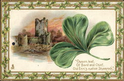 Picture of a Shamrock and a Castle
