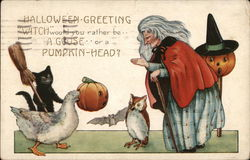 """Witch"" Would You Rather Be...a Goose...or a Pumpkin Head?"""