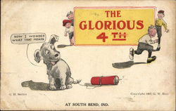 The Glorious 4TH - Children and a Dog