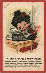 A Very Safe Typewriter