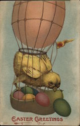 A Baby Chick in a Hot Air Baloon