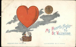 """My Heart's Flight To St. Valentine"""