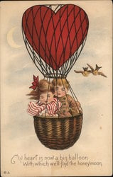 Two Young Kids in a Hot Air Balloon