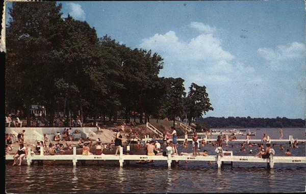 Assembly Beach, ASsembly Park Delavan Wisconsin