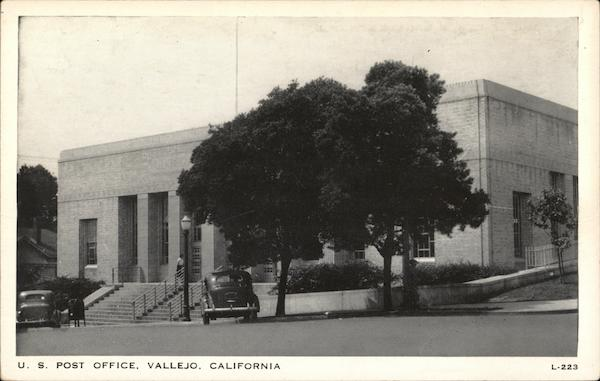 U. S. Post Office Vallejo California