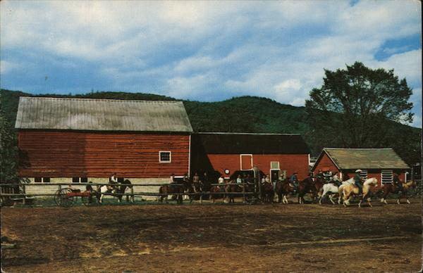 Saddle Lake Dude Ranch Wilton New York Bob Wyer
