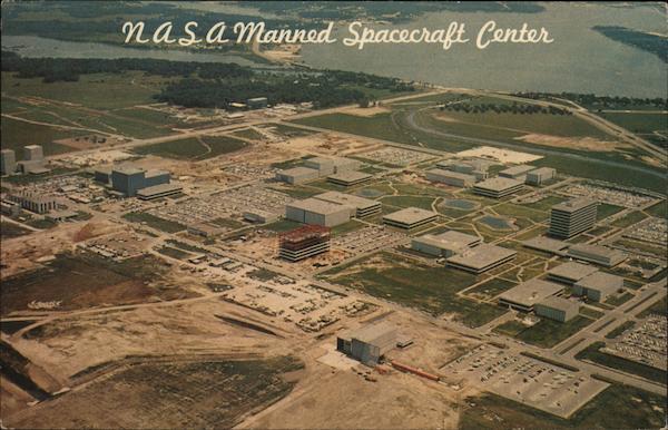 NASA Manned Spacecraft Center Houston, TX Postcard