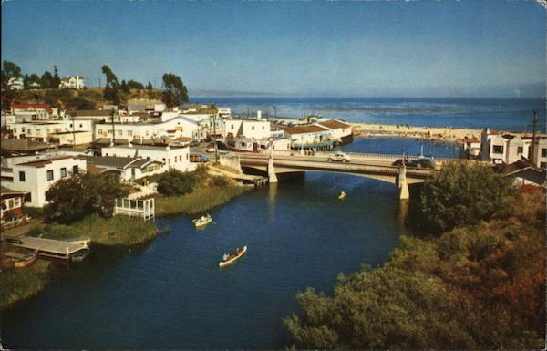 Birds Eye View of Town Capitola-By-The-Sea California