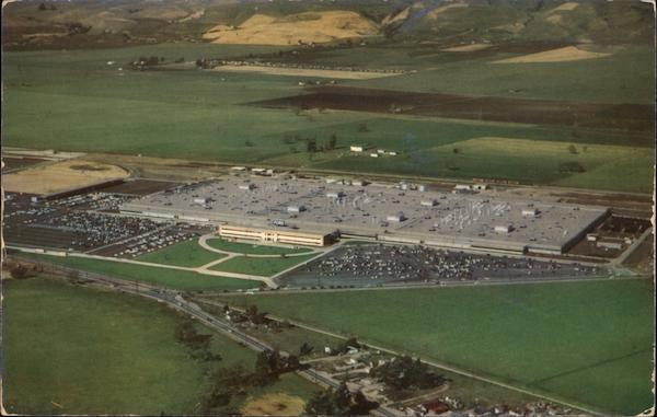 Aerial View of Ford Plant Milpitas California Aero Portraits
