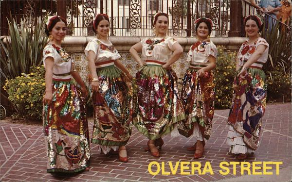 Olvera Street Los Angeles California