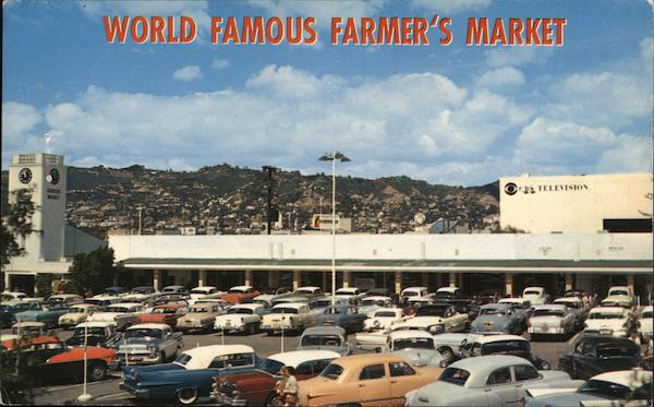 World Famous Farmers Market Los Angeles California