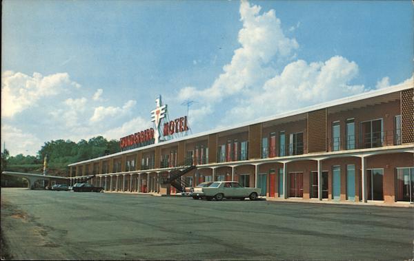 Thunderbird Motel And Restaurant Cookeville Tn Postcard