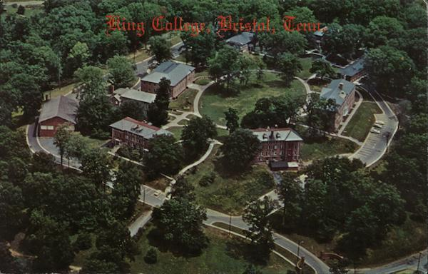 Aerial View of King College Bristol Tennessee