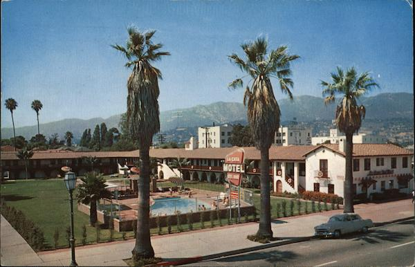 La Casa del Mar Motel Santa Barbara California