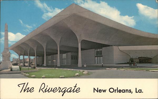 The rivergate new orleans la postcard for The rivergate