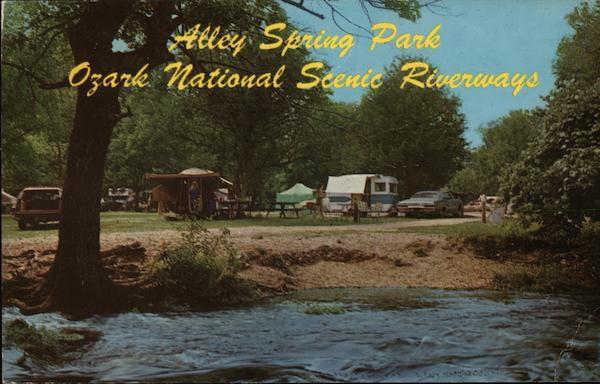 Alley Spring Park Ozark National Scenic Riverways Eminence Missouri