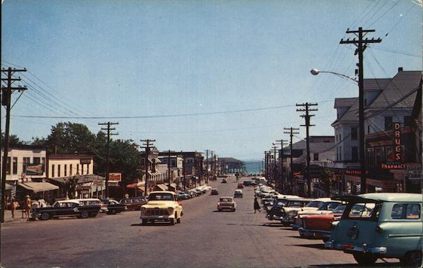 Main Shopping District Old Orchard Beach Maine Jack Edmondson