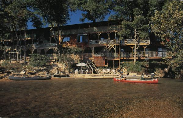 River's Edge, the Inn Resort Eminence Missouri Bill & Sherry Lubic