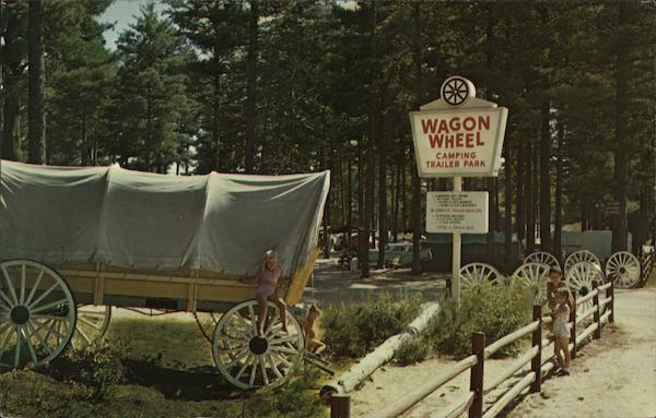 Wagon Wheel Tent Site and Trailer Park Old Orchard Beach Maine