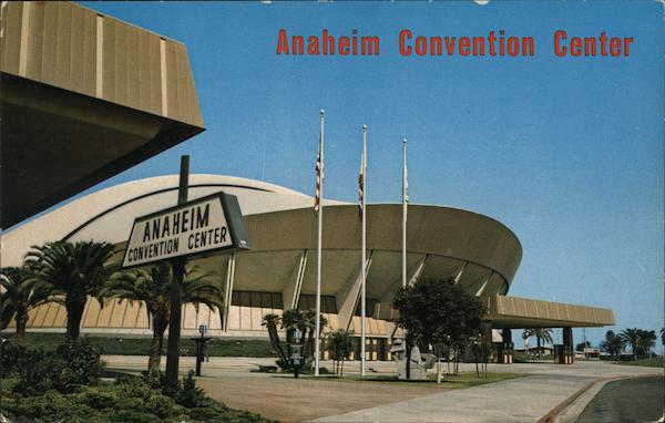 View of Convention Center Anaheim California