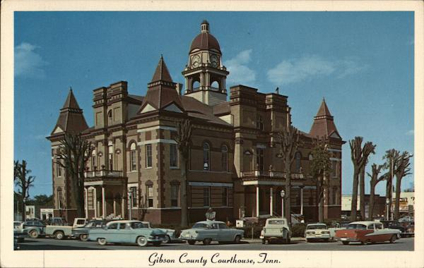 Gibson County Courthouse Trenton Tennessee L. D. Thompson