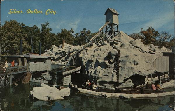 The Flooded Mine Silver Dollar City Missouri DePew