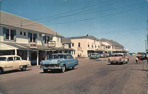 Main Street Ogunquit Maine Lou Thompson