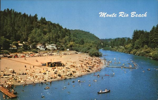Monte Rio Beach On The Russian River