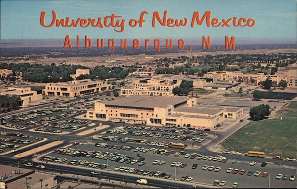 University of New Mexico Albuquerque Bob Petley