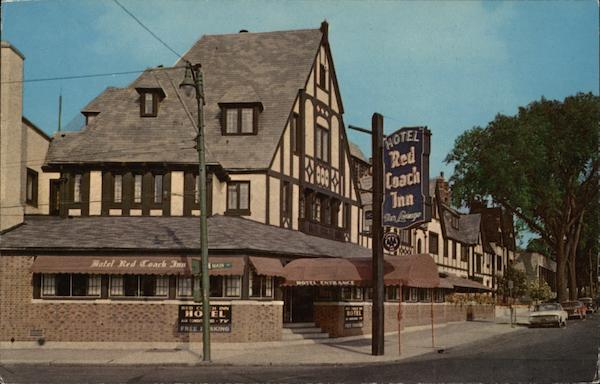 Red Coach Inn, the Hotel Nearest the Falls Niagara Falls New York