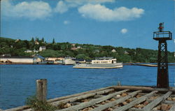 The Harbor at Bayfield Postcard