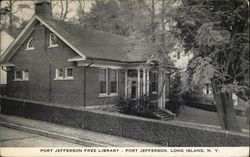 Port Jefferson Free Library, Long Island
