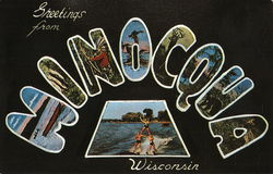 Greetings From Minocqua, Wisconsin