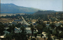 View of Town and Hills