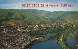 Niles Section near Rugged Niles Canyon Postcard