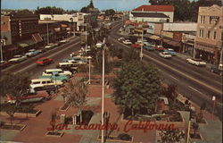 San Leandro City Plaza Postcard