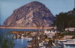 Lovely Resort Town Whose Snug Harbor is Protected by World Famed Morro Rock