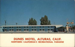 Dunes Motel, Alturas, Calif.