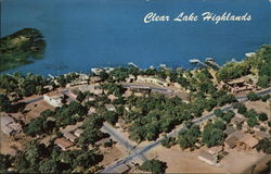Clear Lake Highlands Postcard